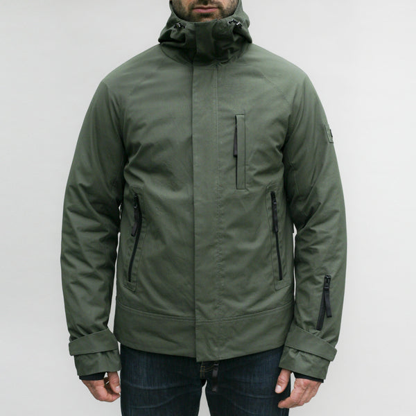 Cotton Sports Jacket (Military Green)
