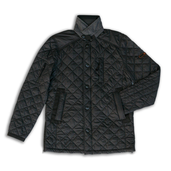 Recycled Overcoat (Charcoal)