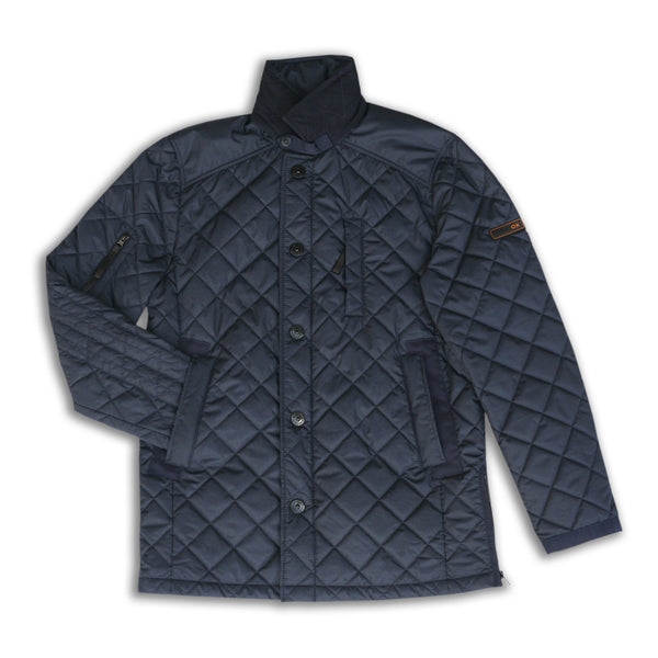Recycled Overcoat (Navy)