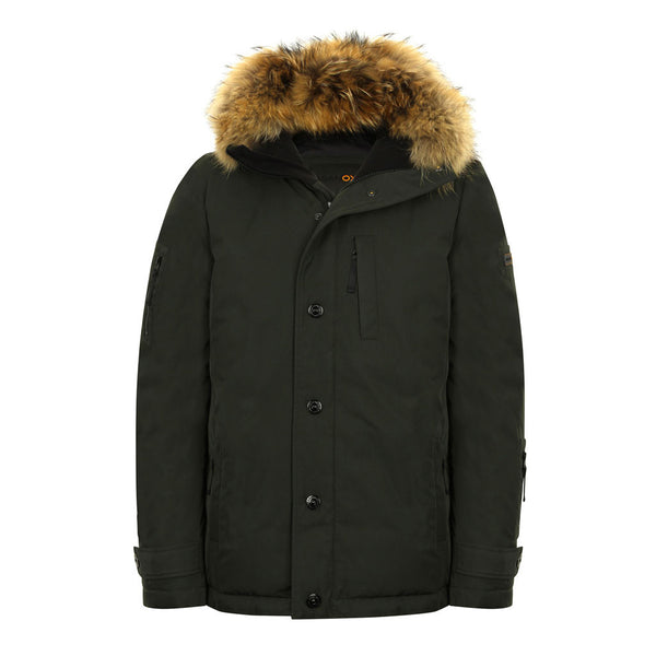Winter Jacket - Explorer Jacket (Commando Green)