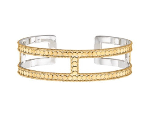 Anna Beck L Bar Cuff Gold