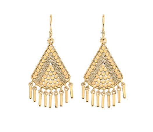 Anna Beck Fringe Drop Earrings