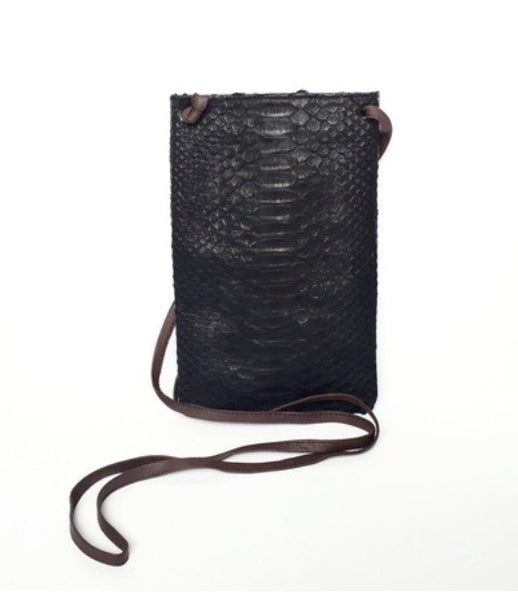 Fig Tree Python  Cross Body - Black