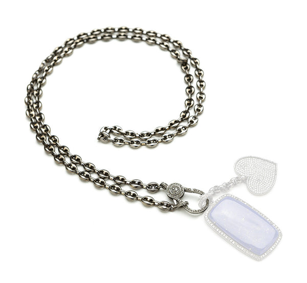 Hayley Style Sterling Necklace