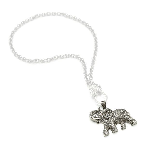 Hayley Style Diamond Elephant