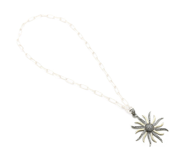 Hayley Diamond Sun Pendant