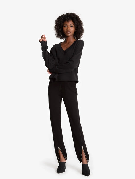 N Philanthropy Blazer Jogger - black cat