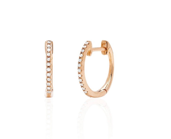 Ef collection huggie earrings