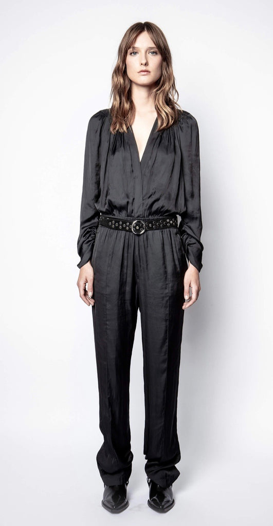 Zadig & Voltaire Captain satin jumpsuit