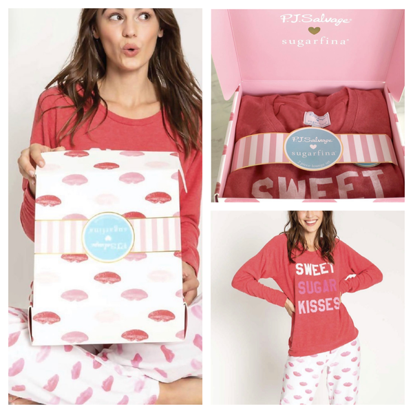 Pj Salvage Sugarfina PJ sugar lips set