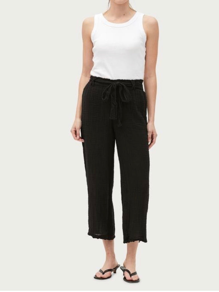 Michael stars Juliette wide leg pant- black