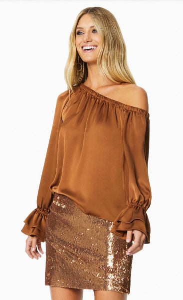 Ramy Brook Murphy copper shirt