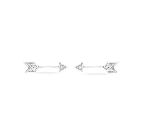 Adina Reyter Tiny Pavé Arrow Posts
