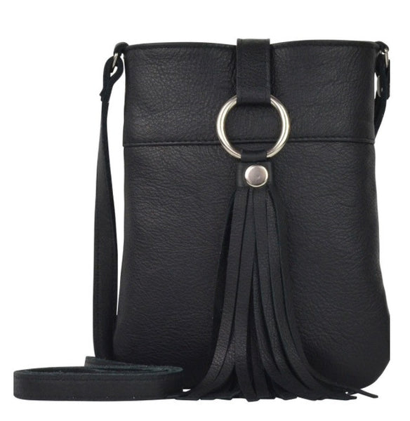 JJ Winters daisy Cross Body