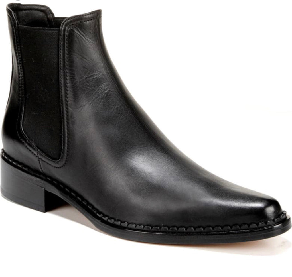 Vince Denver black almeria leather boots