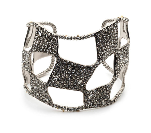 Alexis Bittar pace checkerboard cuff