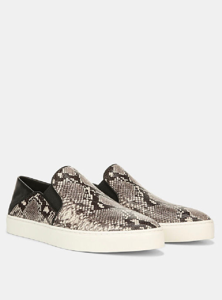 Vince Garvey snake leather sneaker