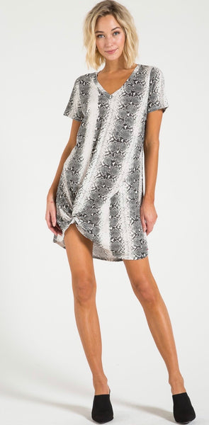 N: Philanthropy Leonardo dress - snakeskin