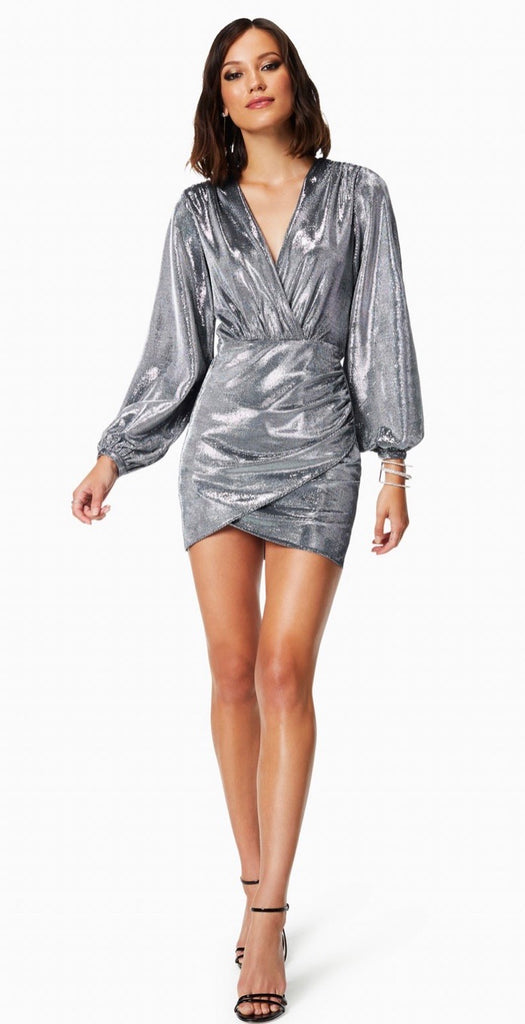 Ramy Brook Bonny  Dress - silver