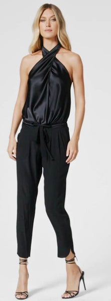Ramy Brook satin pocket Allyn pocket pant