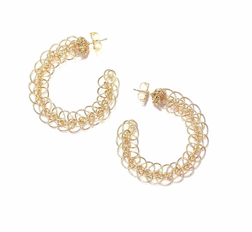 Cassandra Collections Ashley Gold hoops