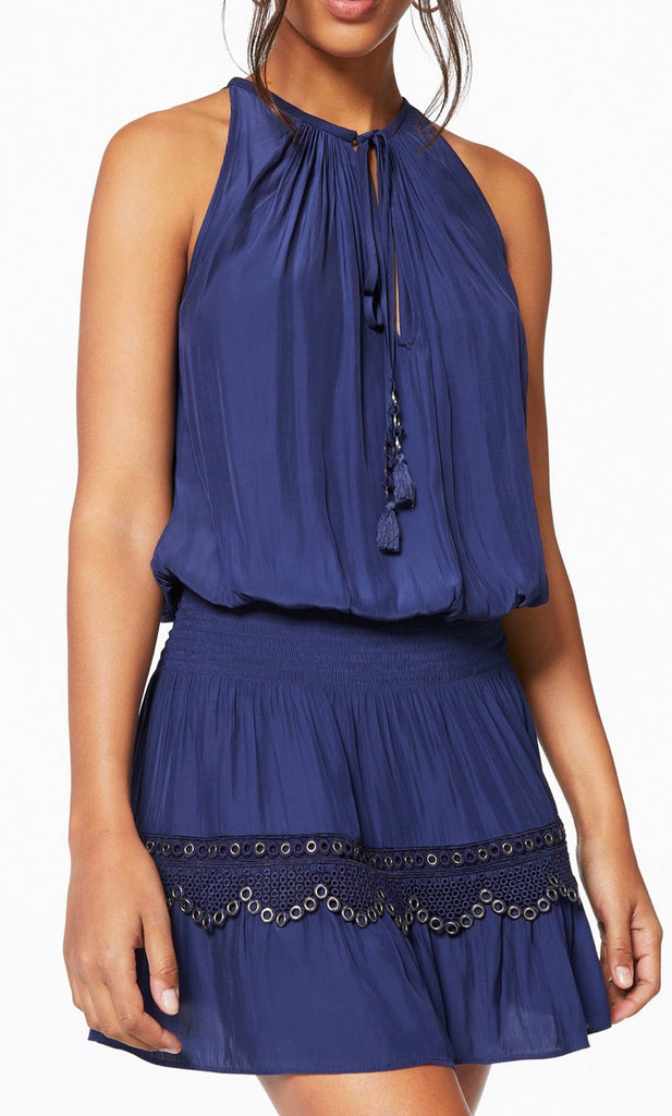 Ramy Brook Kai Dress Navy