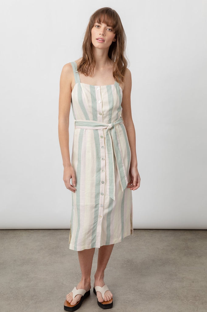 Rails Clement Dress - laurel stripe