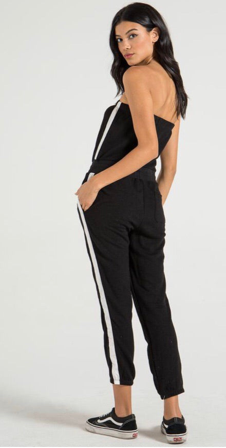 N philanthropy Delhi jumpsuit - black cat