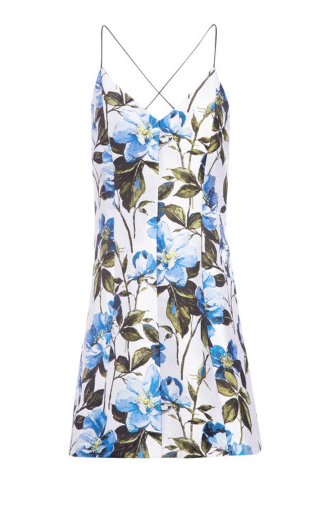 Alice + Olivia Tayla mini flower dress