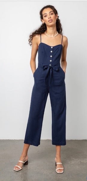 Rails Harper navy jumsuit