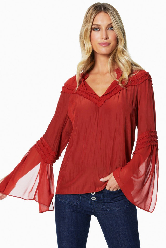 Ramy brook Emmeline Clay shirt