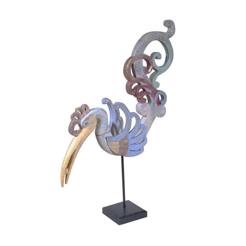 Indonesia Folk Art Toucan Sculpture - Dyag East