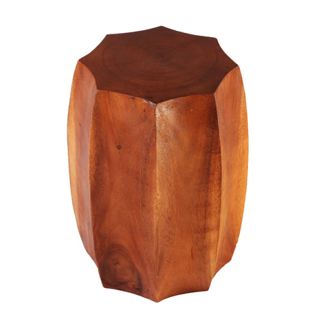 Octagon Accent or Side Table  or Stool of Stool - Dyag East