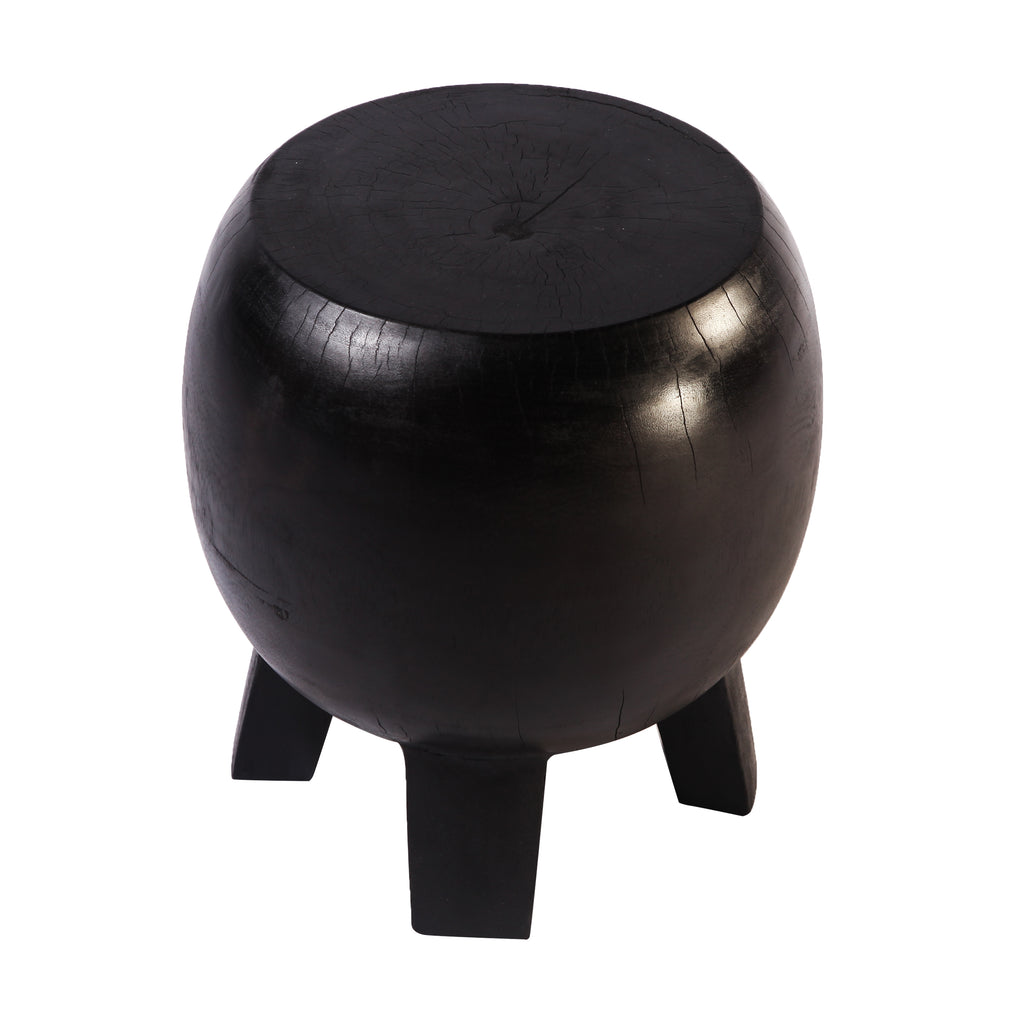 Black Accent or Side Table  or Stool - Dyag East
