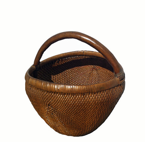 Antique Chinese Hand-Woven Baskets 1 - Dyag East