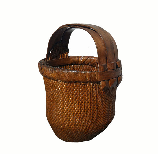 Hand-Woven Antique Chinese Baskets 2 - Dyag East