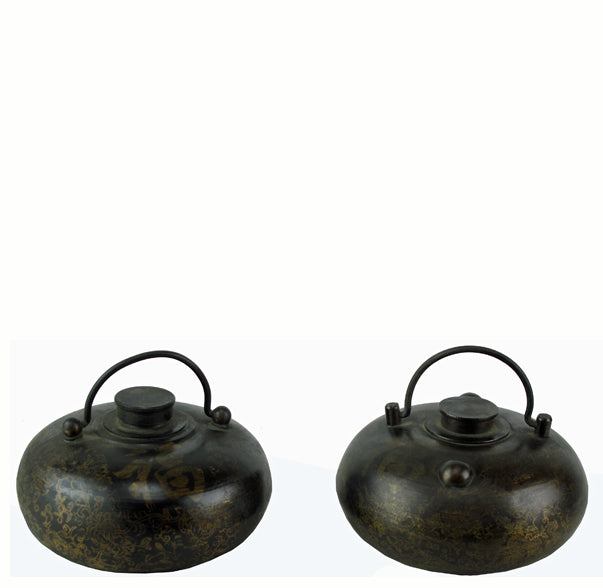 Pair Small Hands Warmer Pot - Dyag East