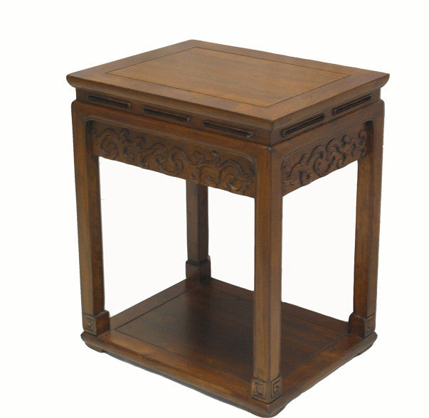 Carved Accent Table - Dyag East