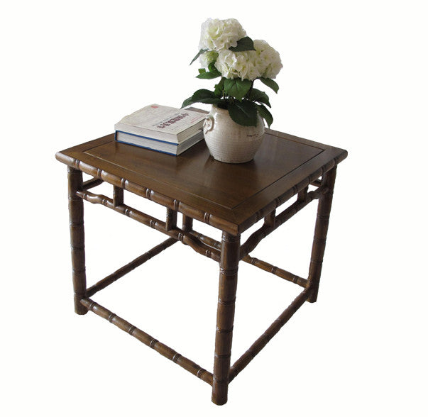 Bamboo Ring Side Table - Dyag East