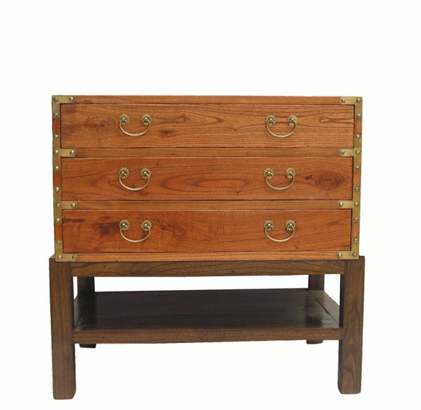 Three Drawers Accent Table - Dyag East