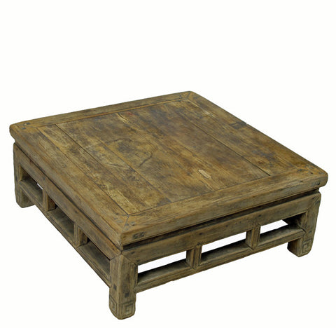 Rustic Square Shandong Table - Dyag East