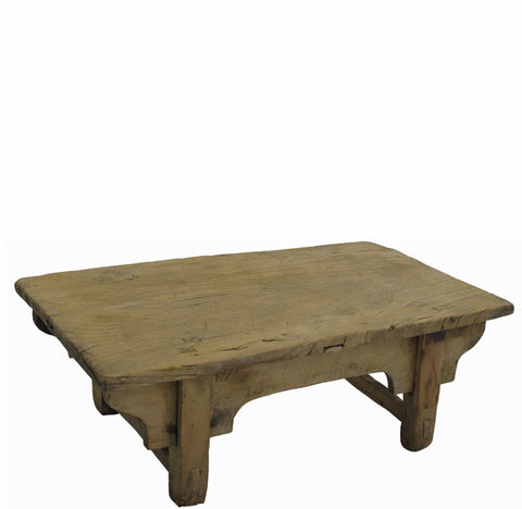 Small Rustic Kang Accent Table or Coffee Table 4 - Dyag East