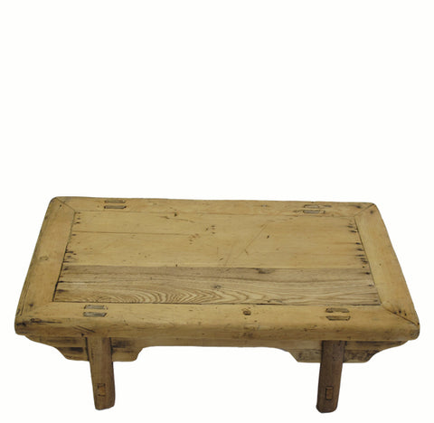 Small Rustic Kang Accent Table or Coffee Table 5 - Dyag East