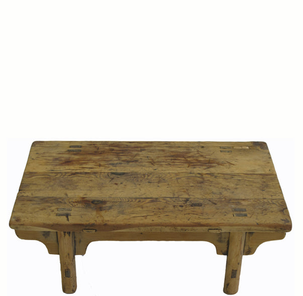 Small Rustic Kang Accent Table or Coffee Table 6 - Dyag East