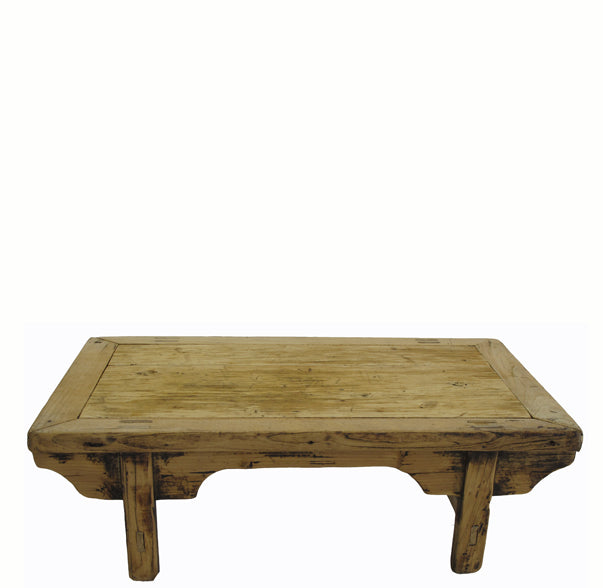 Small Rustic Kang Accent Table or Coffee Table 7 - Dyag East