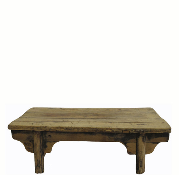 Small Rustic Kang Accent Table or Coffee Table 8 - Dyag East