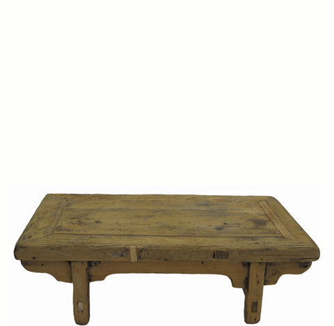 Small Rustic Kang Accent Table or Coffee Table 9 - Dyag East