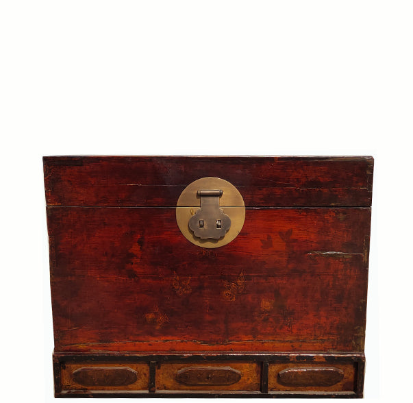 Antique Gansu Trunk