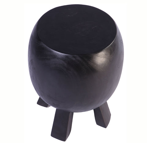 Black Accent or Side Table or Stool 21