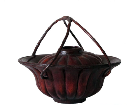 Z-Antique Chinese Fruit Basket - Dyag East